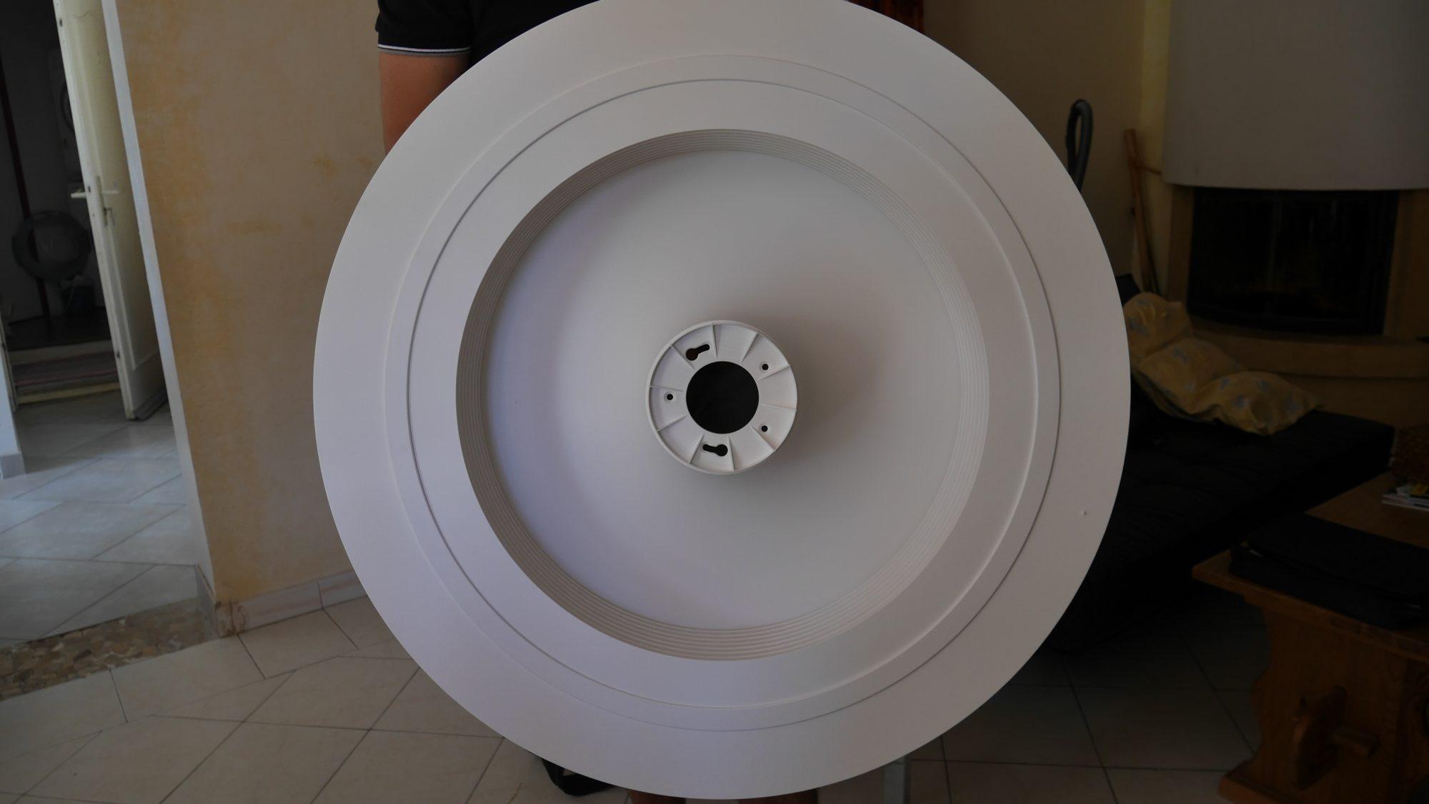 5- prendre le ventilateur sans pales (mono bloc)