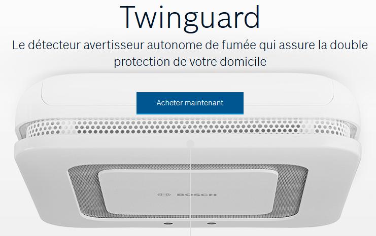 twinguard sur le site de Bosch