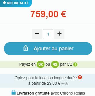759 euros