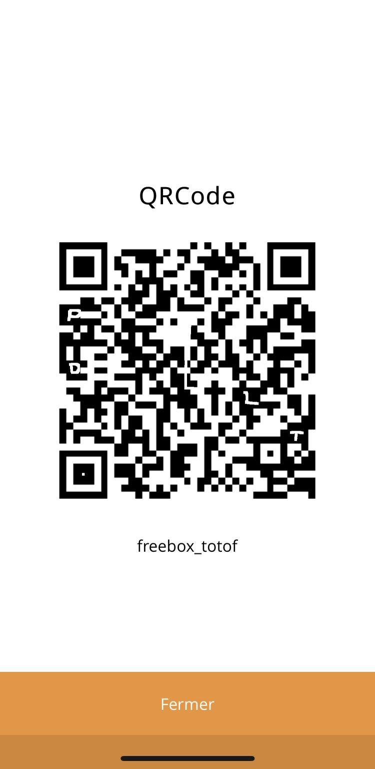 application kiwatch qr code