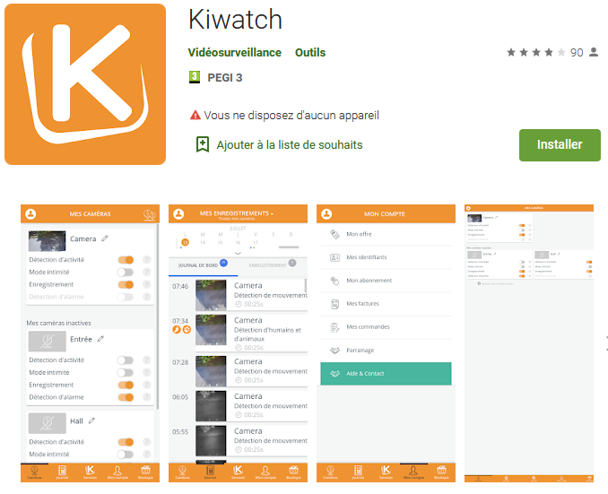 kiout android