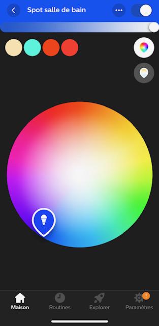 application hue innr 10