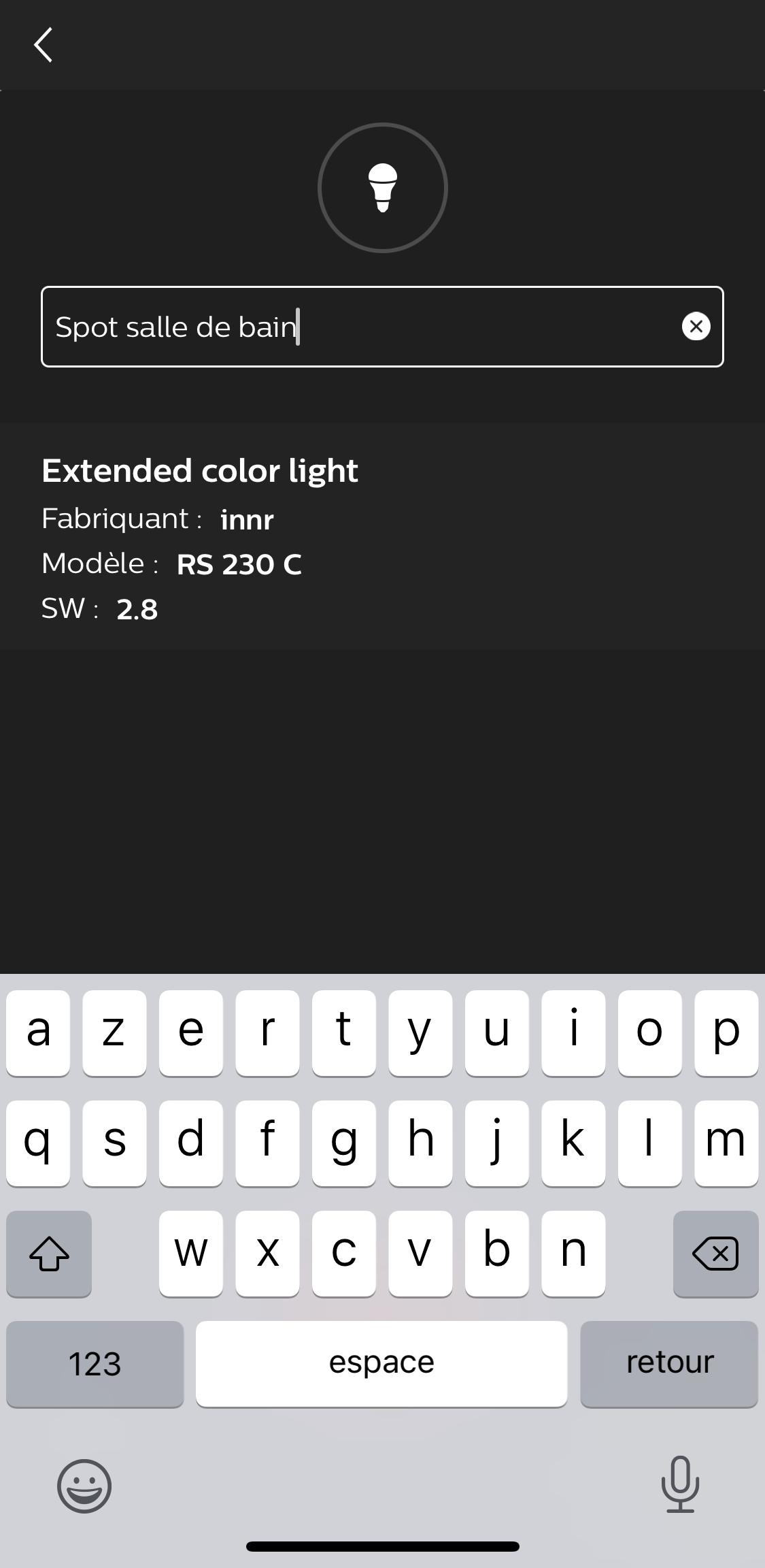 application hue innr 5