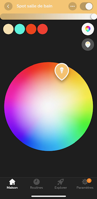 application hue innr 9