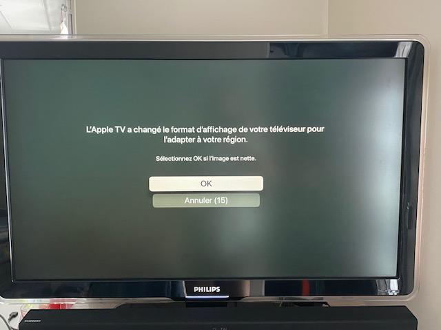 demarrage apple tv 4
