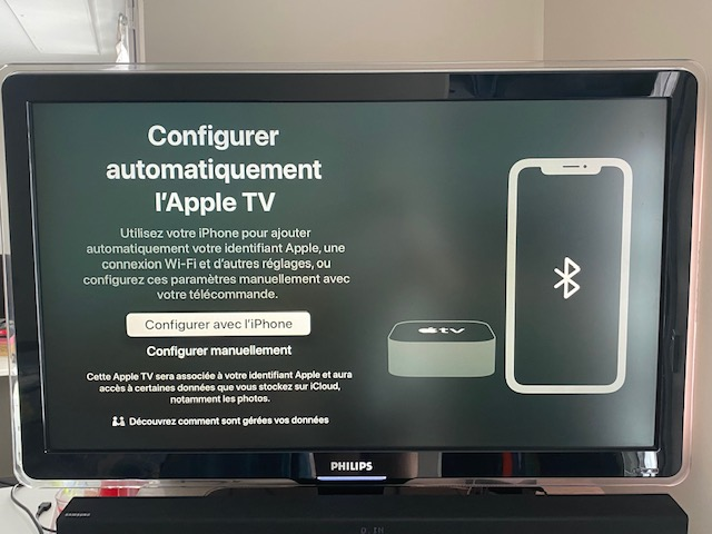 demarrage apple tv 5
