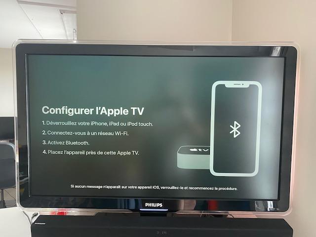 demarrage apple tv 6