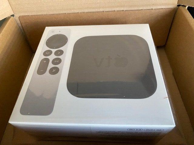 emballage apple tv