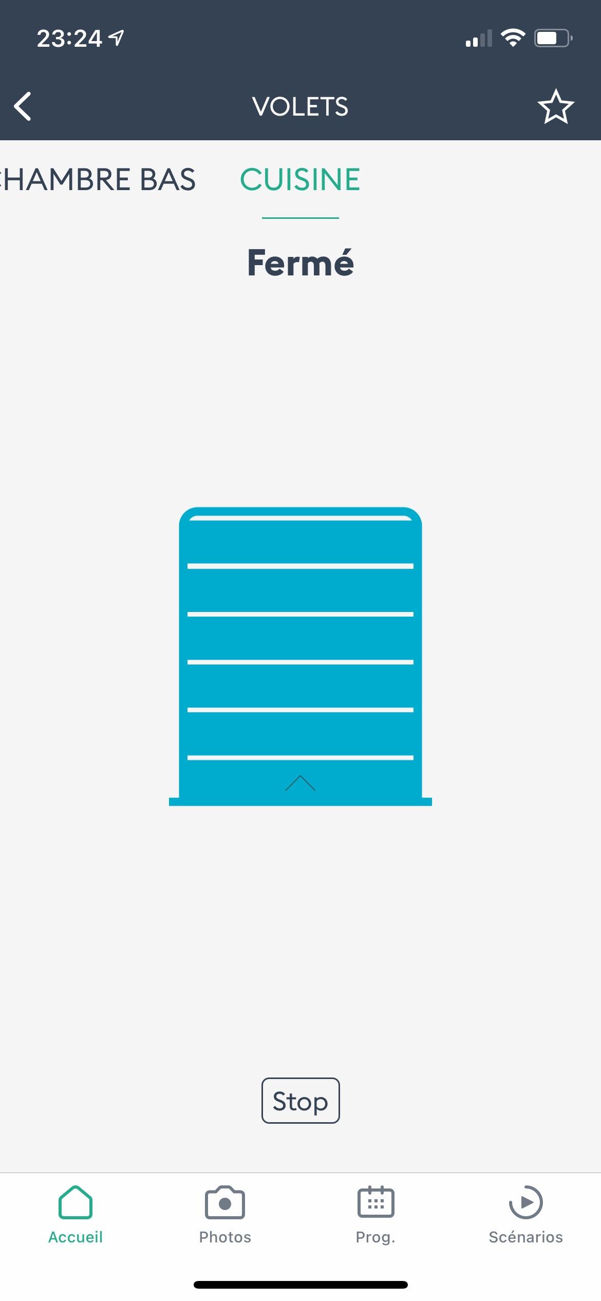 application volet 3