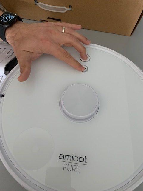 installation amibot aspirateur 10b