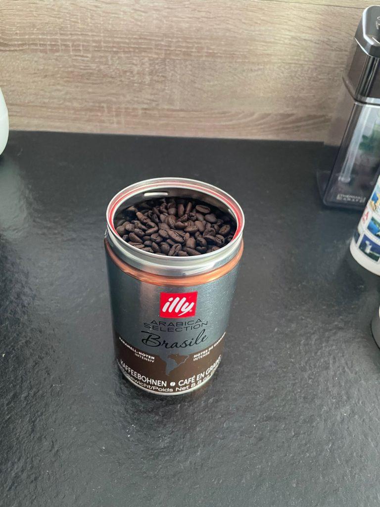 réalisation d'un café delonghi 1