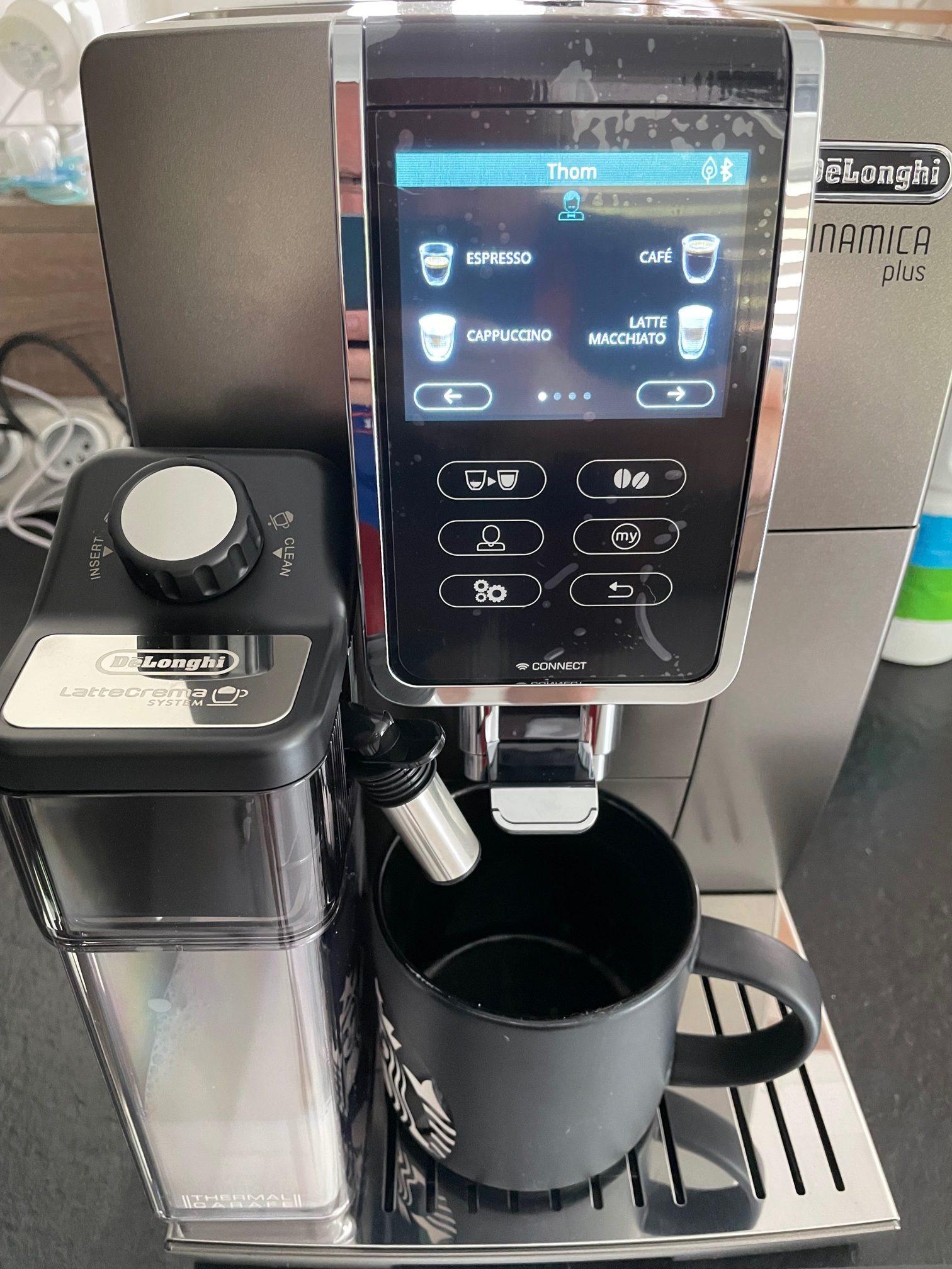 réalisation d'un café delonghi 14