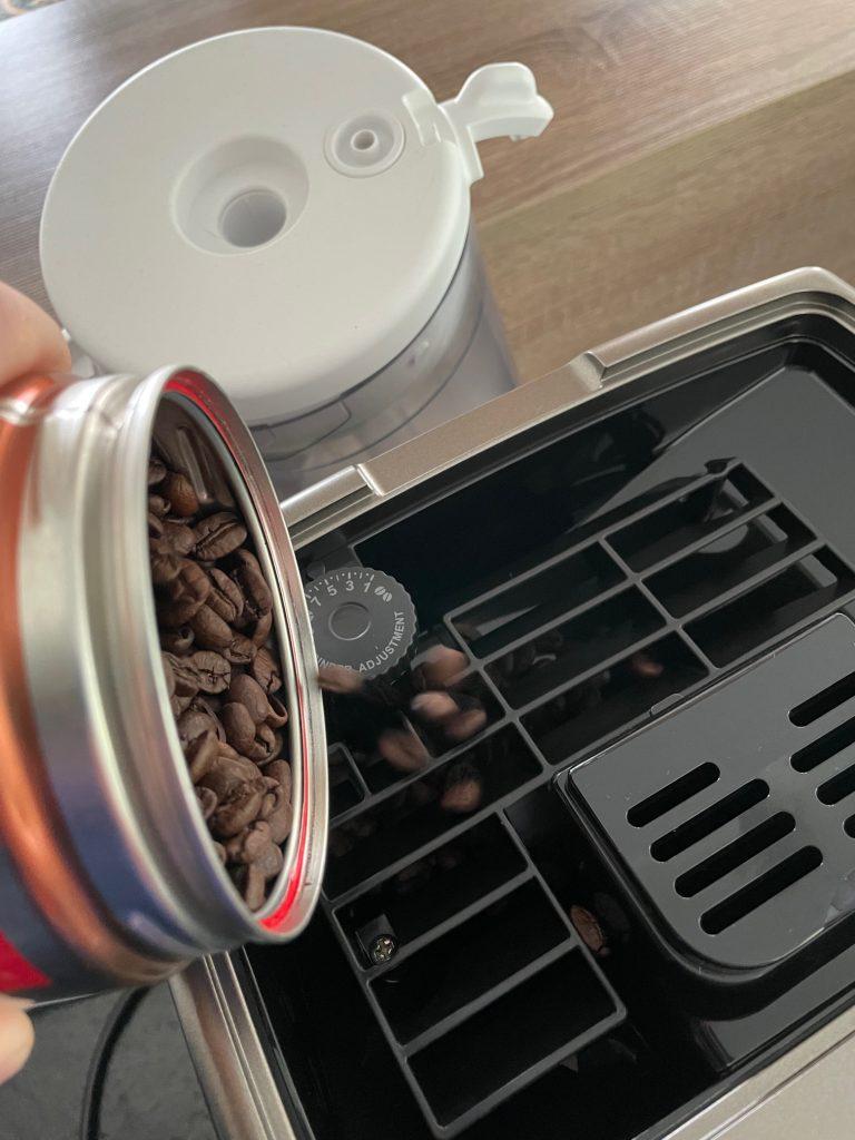réalisation d'un café delonghi 2